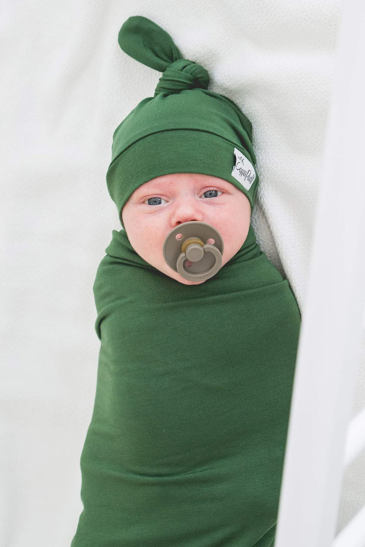 Copper Pearl Large Premium Knit Baby Swaddle Receiving Blanket Alder