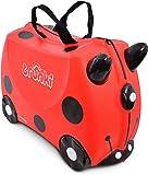 Trunki Children's Ride-On Suitcase: Harley Ladybug (Red)