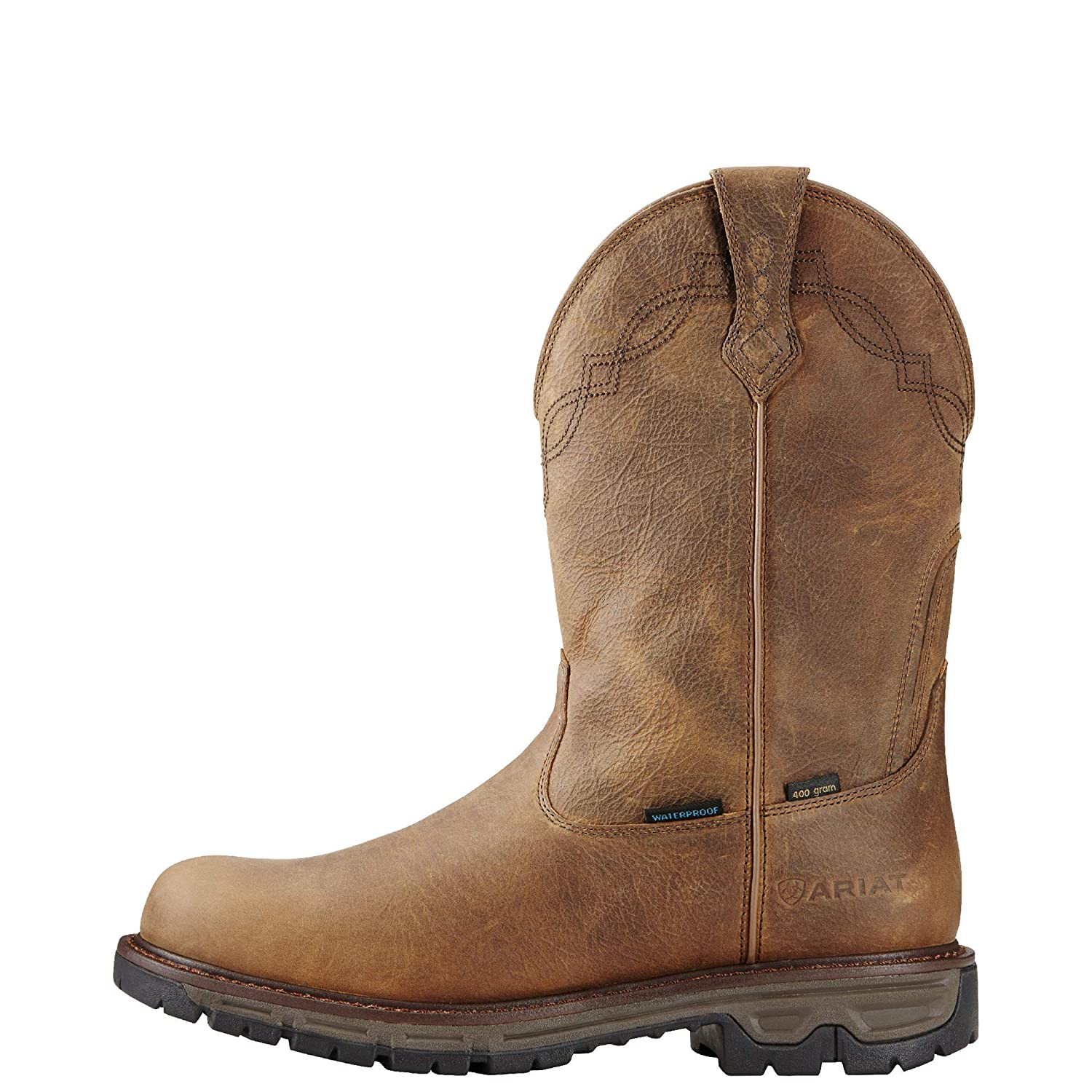 Ariat Mens Conquest Round Toe H2O 400g Western Cowboy Boot