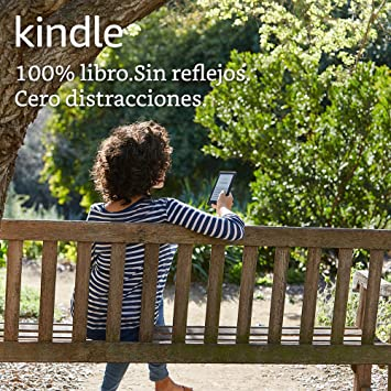 Kindle, pantalla táctil de 6 (15,2 cm), sin luz integrada, wifi ...