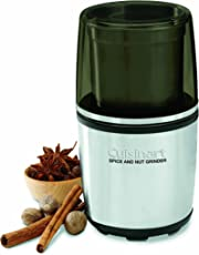 Cuisinart SG-10A Nut and Spice Grinder, Stainless Steel
