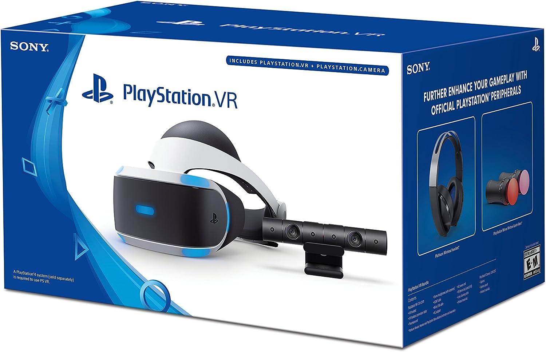 Sony PlayStation VR Auriculares + Cámara Bundle [continuado ...