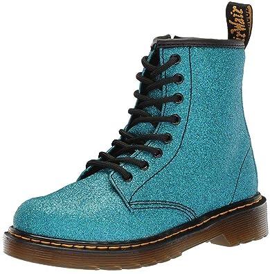 986b429e Dr Martens 1460 Blue Glitter Kids Zip Boots: Amazon.co.uk: Shoes & Bags