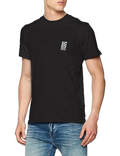 ba2f4b634abc32 Vans Men s Worldwide T-Shirt Black (Black Blk) X-Large  Buy Online ...