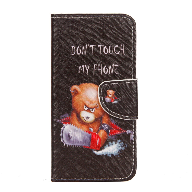 Custodia per Huawei Mate 10 Lite, 95Street   Case in PU Pelle Internamente Silicone TPU Cover, Funzione Stand, Porta Carte e Protettiva Flip Portafoglio Case Con Chiusura Magnete per Huawei Mate 10 Lite