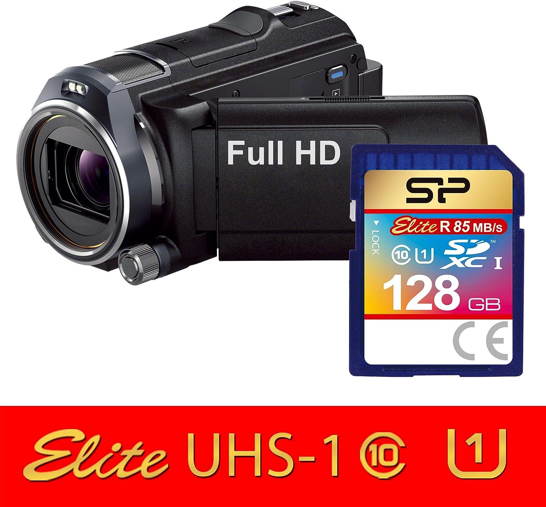 Silicon Power 128GB Elite SDXC UHS-1 CL10 Memory Card 85MB//sec