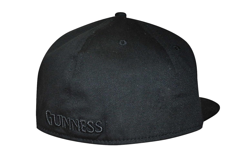 3b7e55d818a Guinness Black Harp Flat Brim Baseball Cap  Amazon.co.uk  Clothing