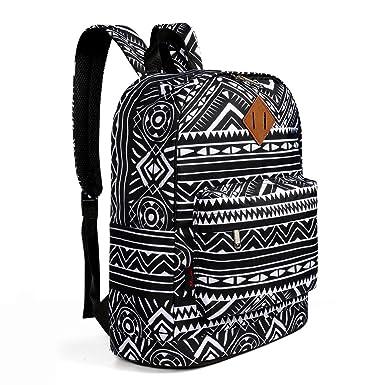 Amazon.com | Advocator Vintage Printed Primary School Backpacks ...