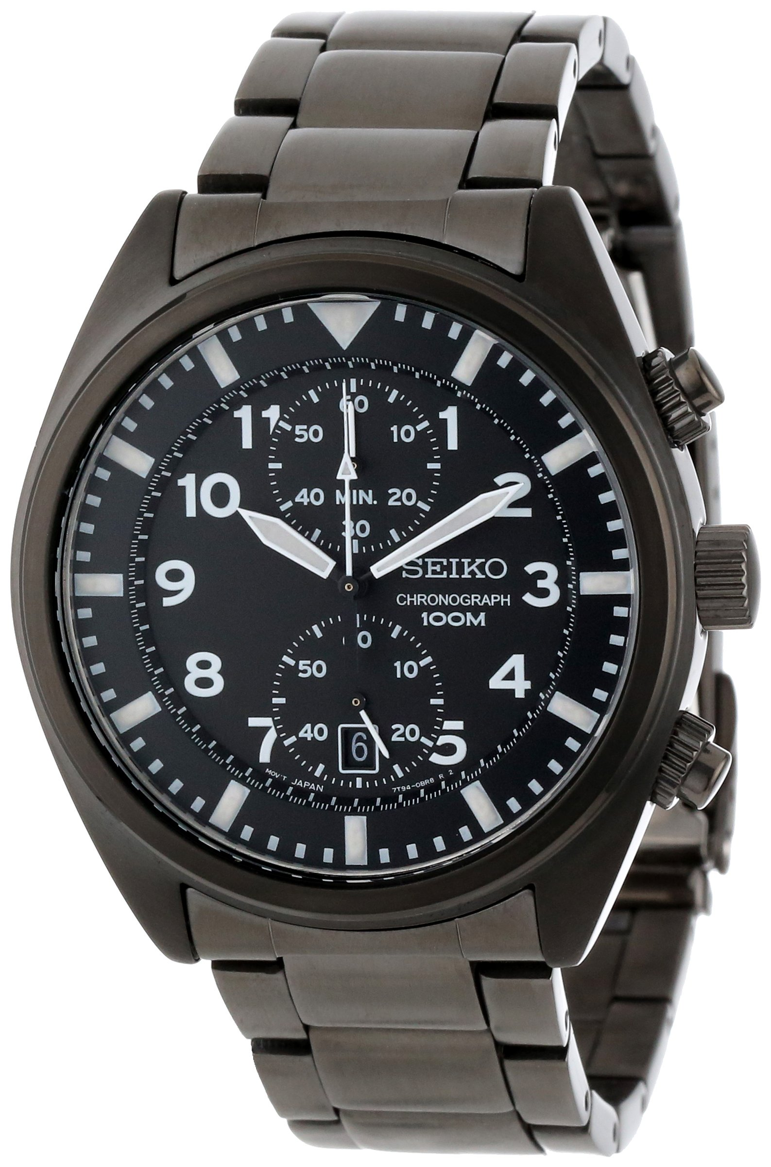 Seiko Men's SNN233 Stainless Steel Watch