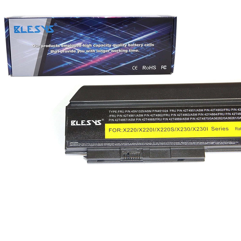 BLESYS 9 Zellen Lenovo ThinkPad X220 Akku Fit X220i Amazon puter & Zubehör