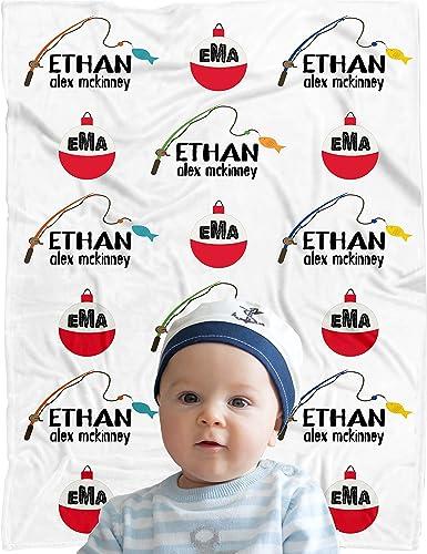 Personalized Baby Blanket ~ Monogram Blanket ~ Photo Prop ~ Name Blanket ~ Initial Blanket ~ Baby gift