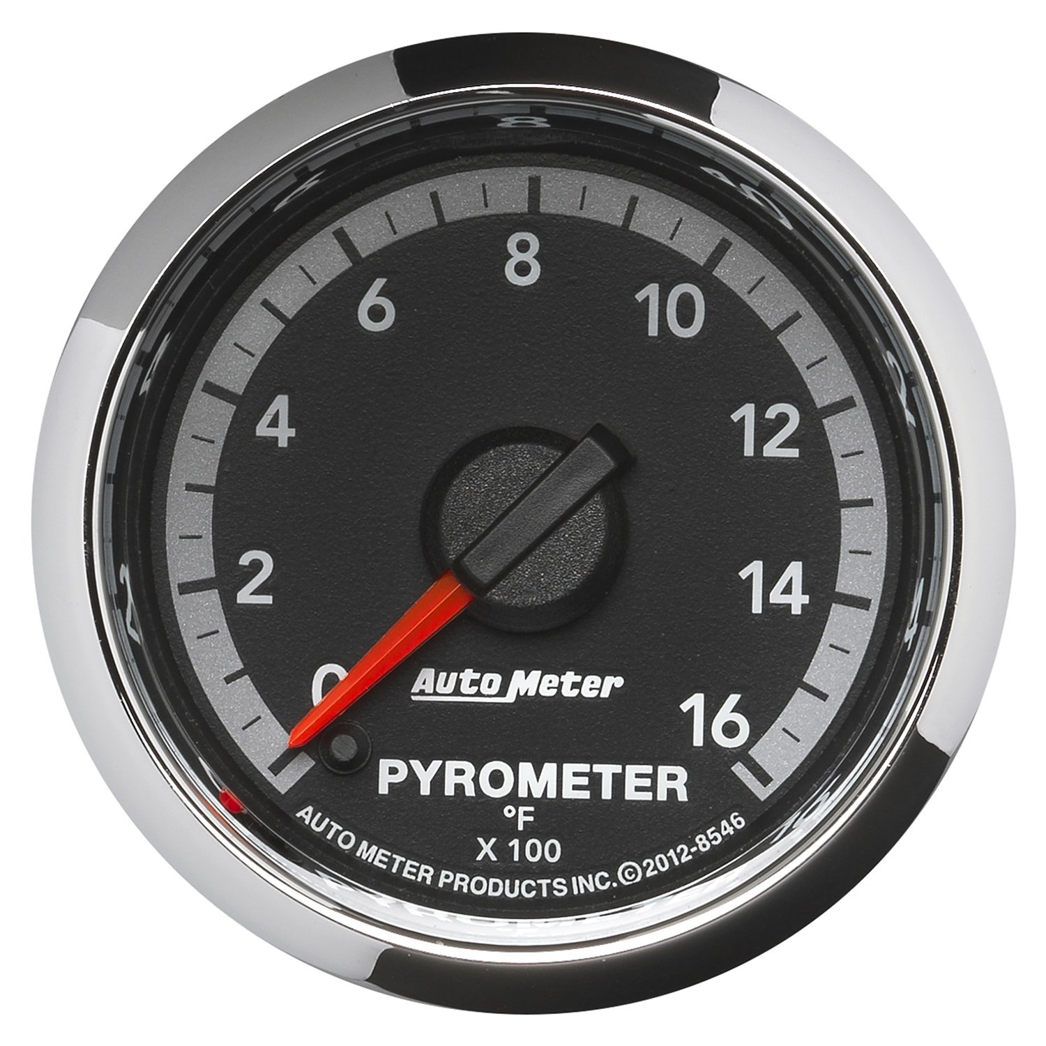 Auto Meter 8546 Factory Match 2-1/16'' Electric Pyrometer (0-1600 Degree F, 52.4mm)
