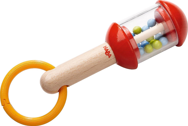 Haba 5993 Rasselstab, Kleinkindspielzeug Musikspielwaren