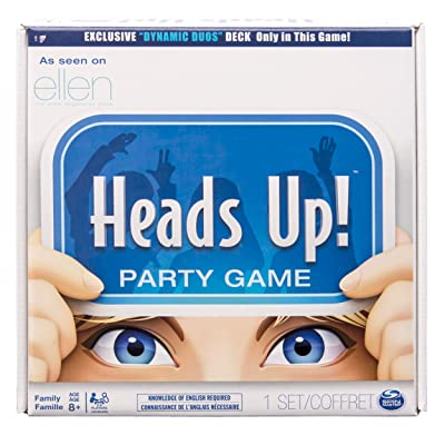 Spin Master Games, Heads Up! Board Game (Edition May Vary): Toys & Games [5Bkhe1903138]
