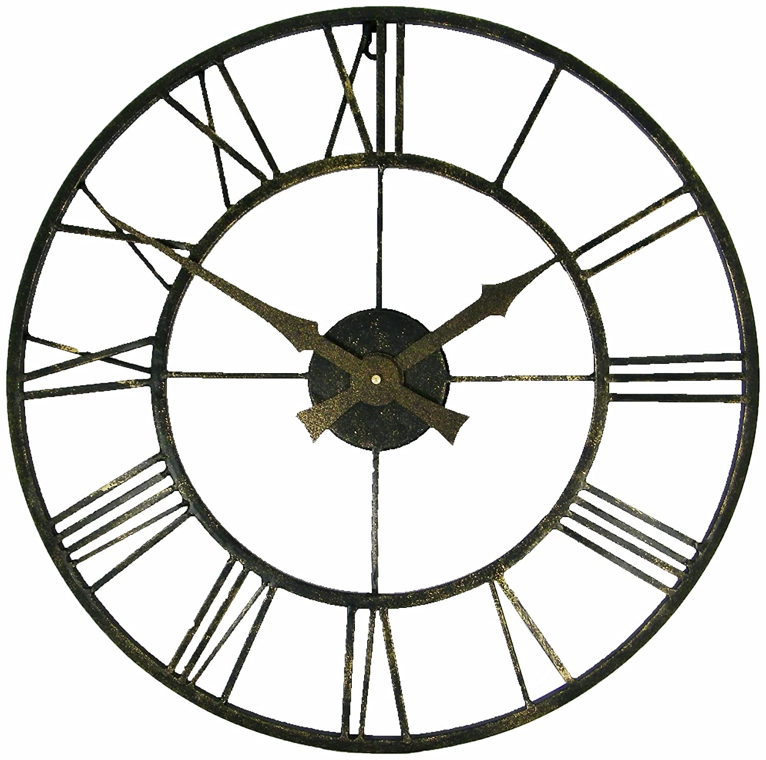 Roger Lascelles Outdoor Indoor Metal Clock Amazoncouk