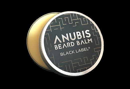 Black Label Beard Balm Anubis 50 ml/barba Balm con arganöl mittelfest: Amazon.es: Salud y cuidado personal