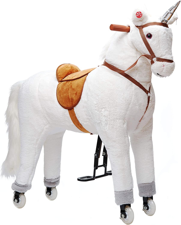 Pferde fußball QHP Pink 80 cm