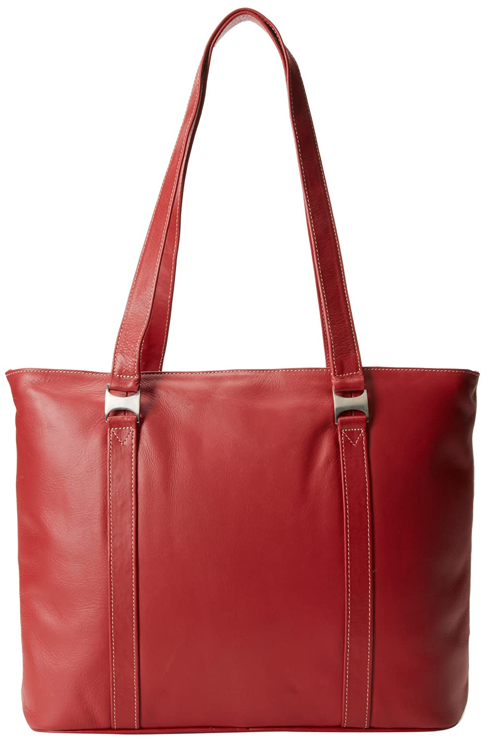 d21545499 Amazon.com: Piel Leather Computer Tote Bag, Red, One Size: Piel Leather