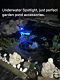 Pond Lights NEW UPGRADED Remote Control Submersible Lamp IP68 Totally Full Waterproof Underwater Aquarium Spotlight 36-LED Multi-color Decoration Landscape Lamp for Swimming Pool Fish