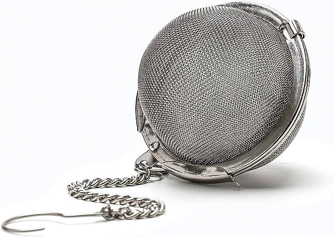 1 Unidad Elegante infusor de bola para t/é Teabox infusor de t/é, colador de t/é, filtro de t/é, bola de t/é, acero inoxidable