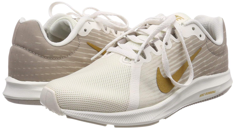 buy popular 0999d 5529d Nike Women s Downshifter 8 Phantom Metallic Gold-Moon Particle Running Shoes(908994-012)   Amazon.in  Shoes   Handbags
