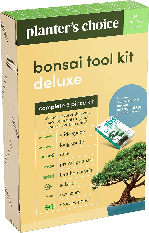 Amazon.com: Juego de herramientas de bonsai de Planters ...