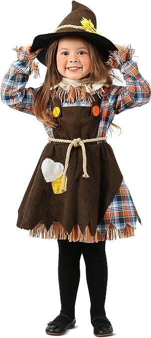 Disfraz de espantapájaros para niños - Blanco - Small: Amazon.es ...