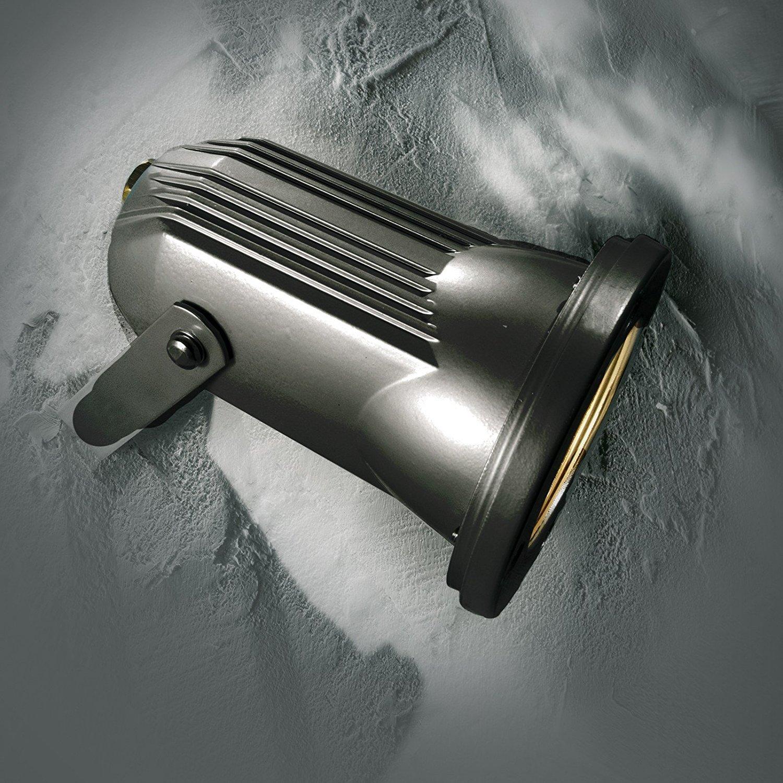 proiettore faretto faro da esterno a led pan wet attacco gu10 ... - Faretti Pavimento Orientabili