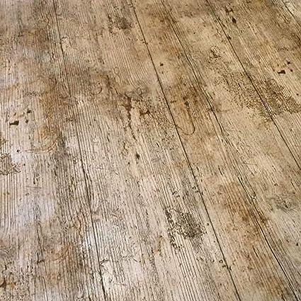 QPC Direct – Mantel de vinilo PVC de hule para mesa de impresión de efecto  de madera de madera rústico 2 metros
