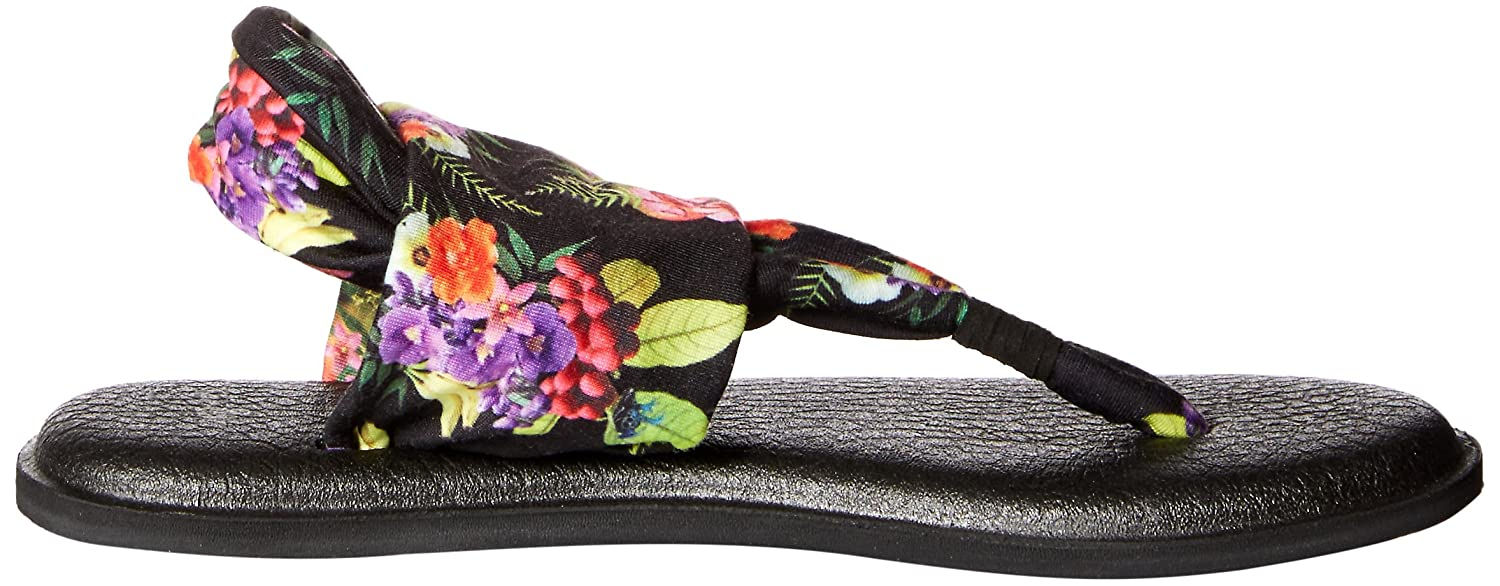 Sanuk Prints Damen Yoga Sling#2 Prints Sanuk Zehentrenner, black tropic amazon f15bbe