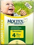 Moltex - Nature - Pañales ecológicos - Talla 4 (7 - 18 kg) - 74 pañales