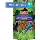 Kaytee 100505655 Mealworm Food Pouch, 17.6 Ounce, None