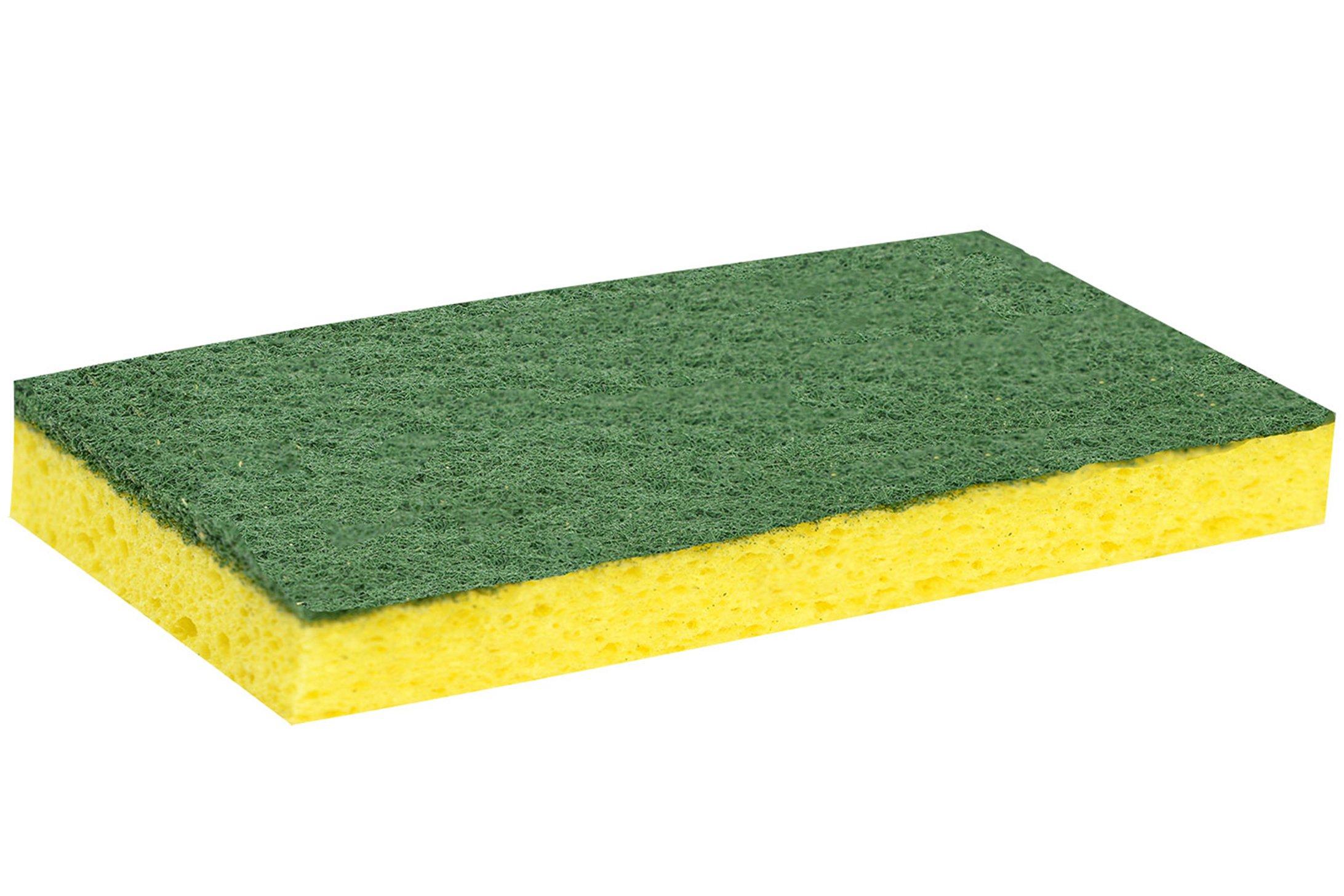 ScrubX 3020 Scrub Sponge, Heavy Duty, Multi-Use, Pack of 40