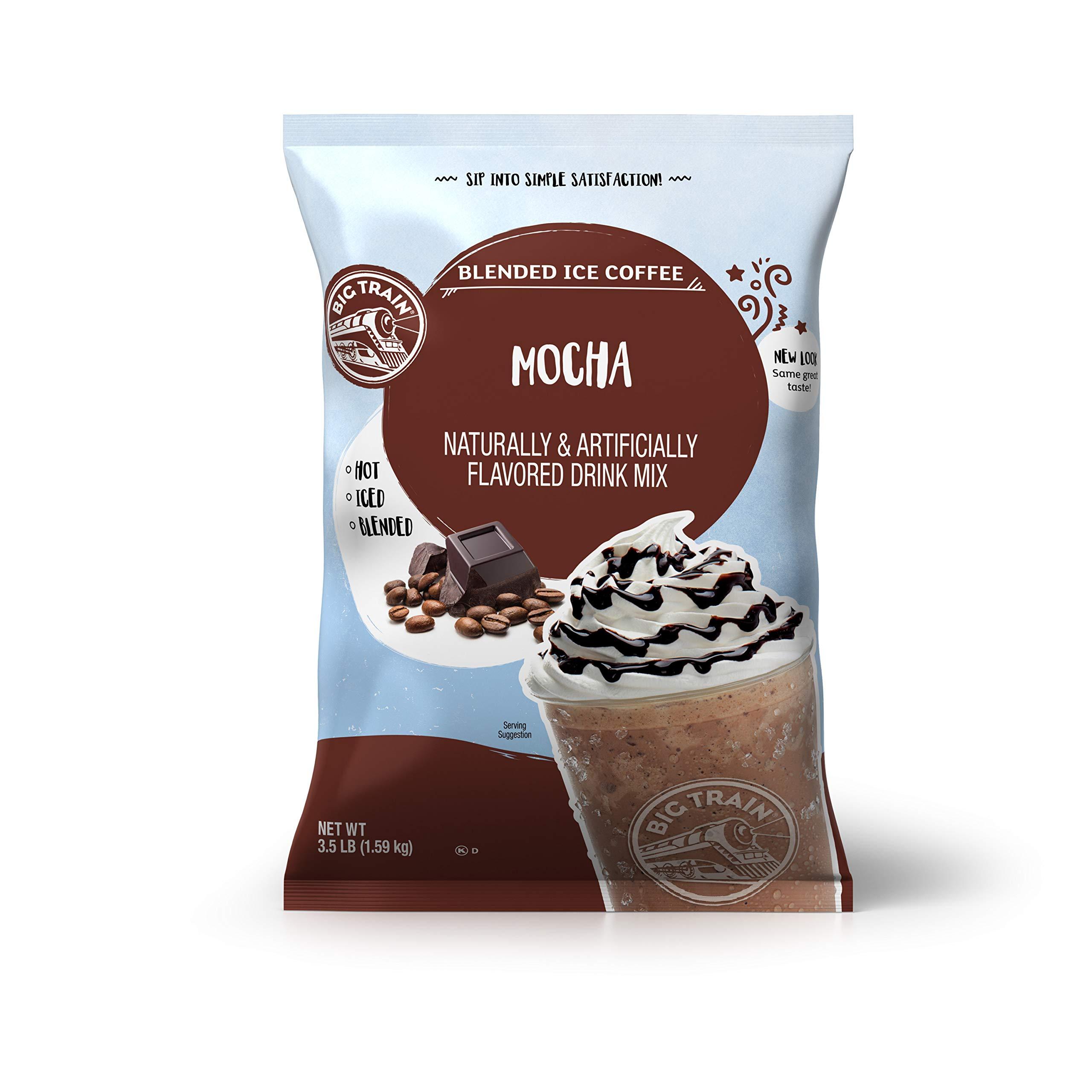 Big Train Blended Ice Coffee, Mocha, 3.5 Pound