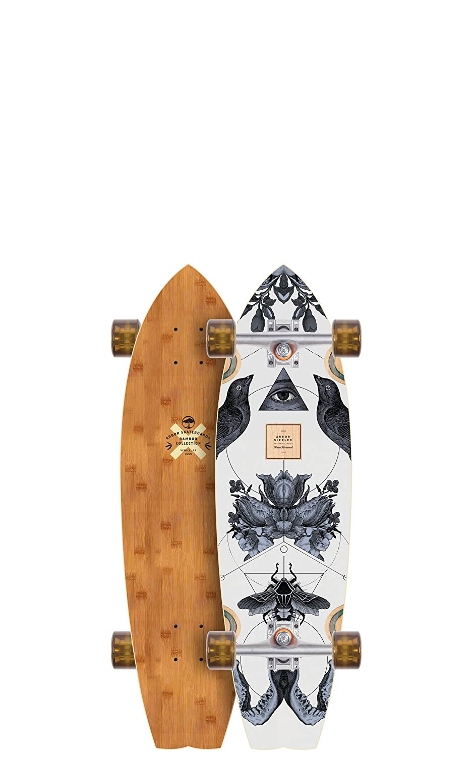 "Sizzler 31"" Complete Skateboard, Mini Carver, 149mm Street ..."