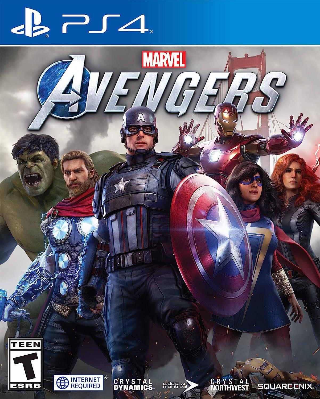 Amazon Com Marvel S Avengers For Playstation 4 Square Enix Llc Square Enix Video Games