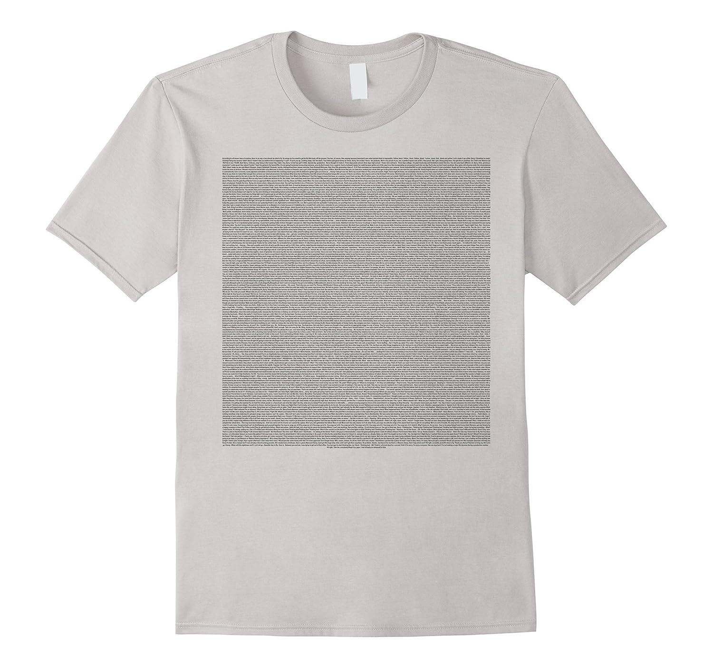 bee movie script t shirts font size 31 read easy td teedep