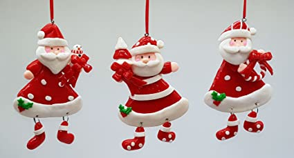 Buy MY PARTY SUPPLIERS Premium Merry Christmas Hanging Ornaments ...