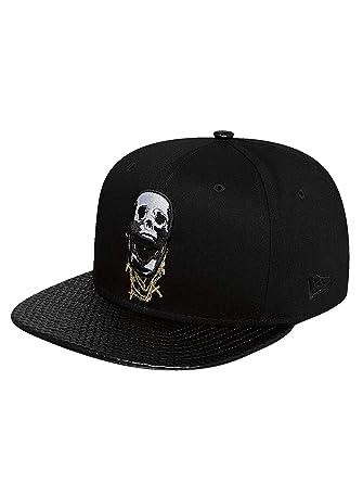 37c857f5e76 New Era Men Caps Snapback Cap Skullchains 9Fifty Black Adjustable ...