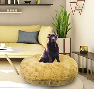 product image for BESSIE AND BARNIE Signature Honeymoon Luxury Extra Plush Faux Fur Bagel Pet/Dog Bed