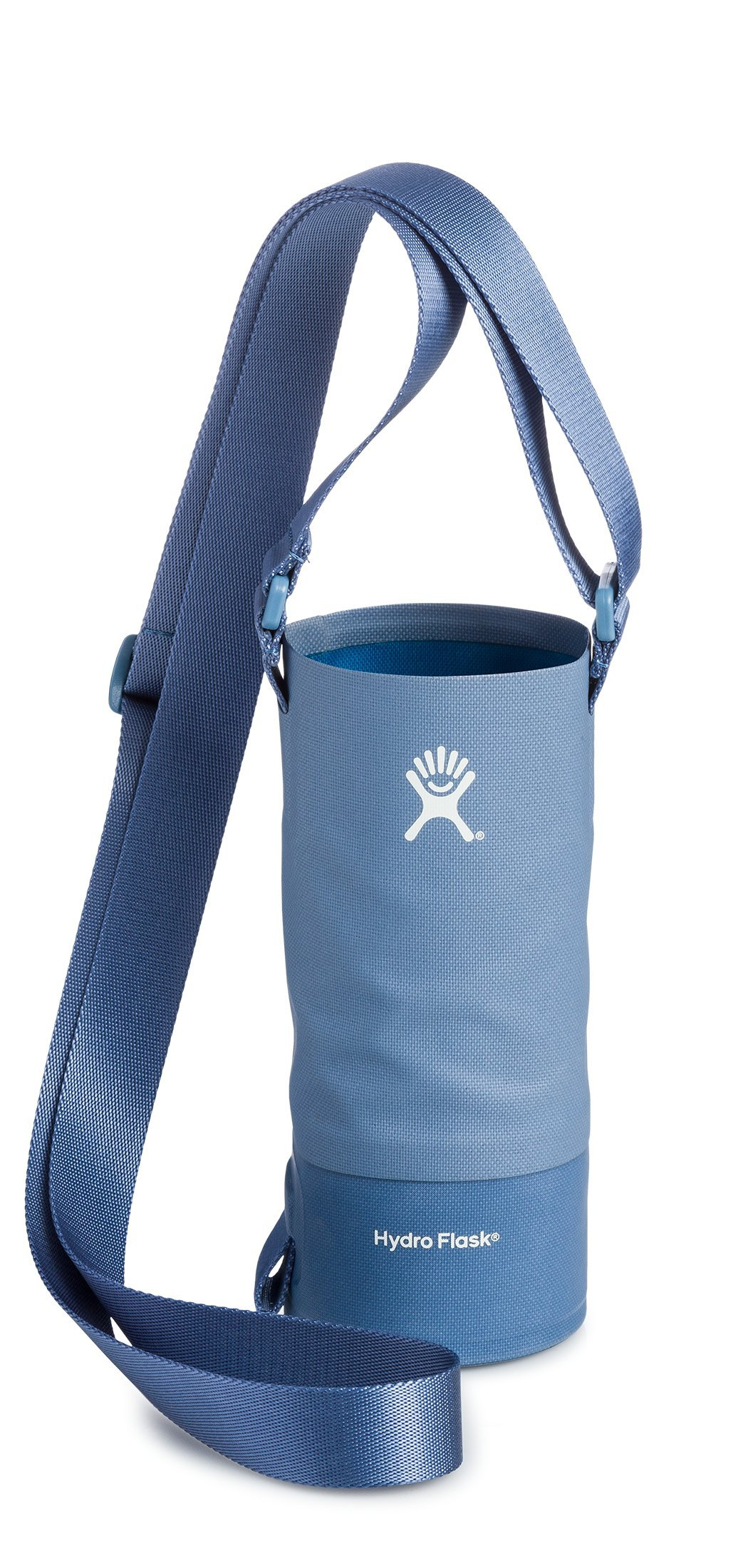 Hydro Flask Small Soft Sided Nylon Tag Along Water Bottle Sling with Pockets, Storm (Fits 12 oz, 18 oz, 21 oz, and 24 oz Bottles)