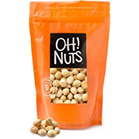 Oh! Nuts Oven Roasted Macadamia Nuts | Dry-Roast, Unsalted, & Gluten-Free | All-Natural, Additive-Free Healthy Snack…