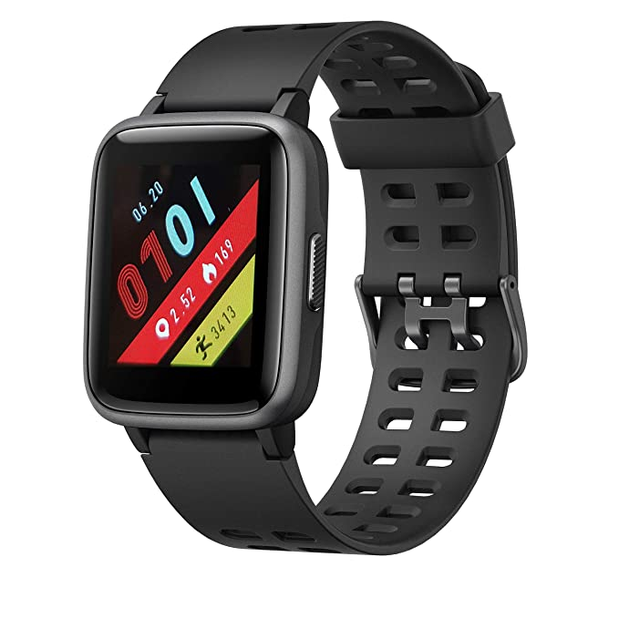 LEOTEC Smartwatch Multisport WorldFit Negro: Amazon.es ...