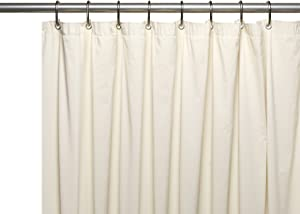 Carnation Home Fashions Special Sized Wide 10 Gauge Vinyl Shower Curtain Liner, 48