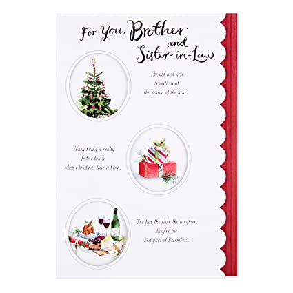Amazon hallmark brother and sister in law christmas card merry hallmark brother and sister in law christmas card merry christmas medium m4hsunfo