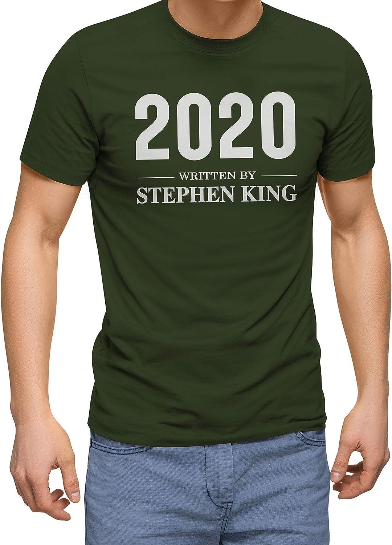 Written by Stephen King 2020 Camiseta para Hombre