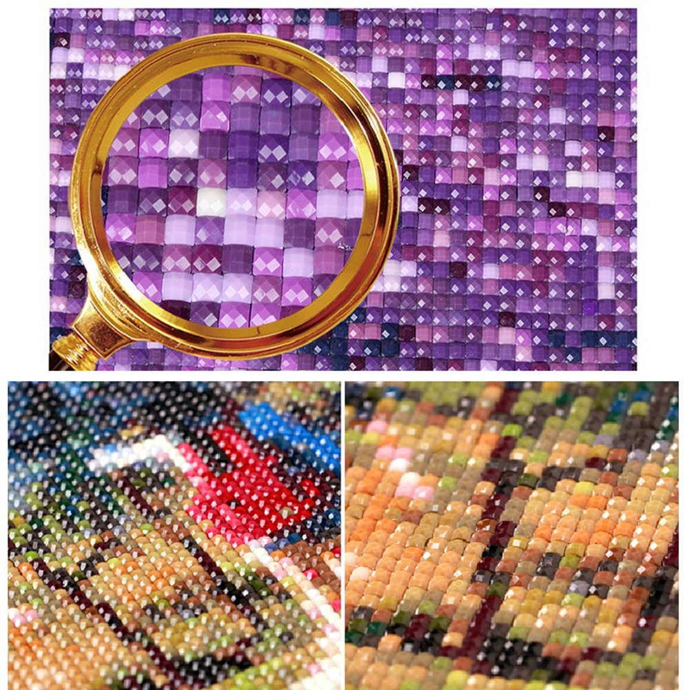 5D Diy Art Rhinestone Pasted Painting//Mosaic Cross Stitch LoveMyHome Diamond Painting Full Kits with Square Diamond and Make Tool Deer in Winter 30X30CM