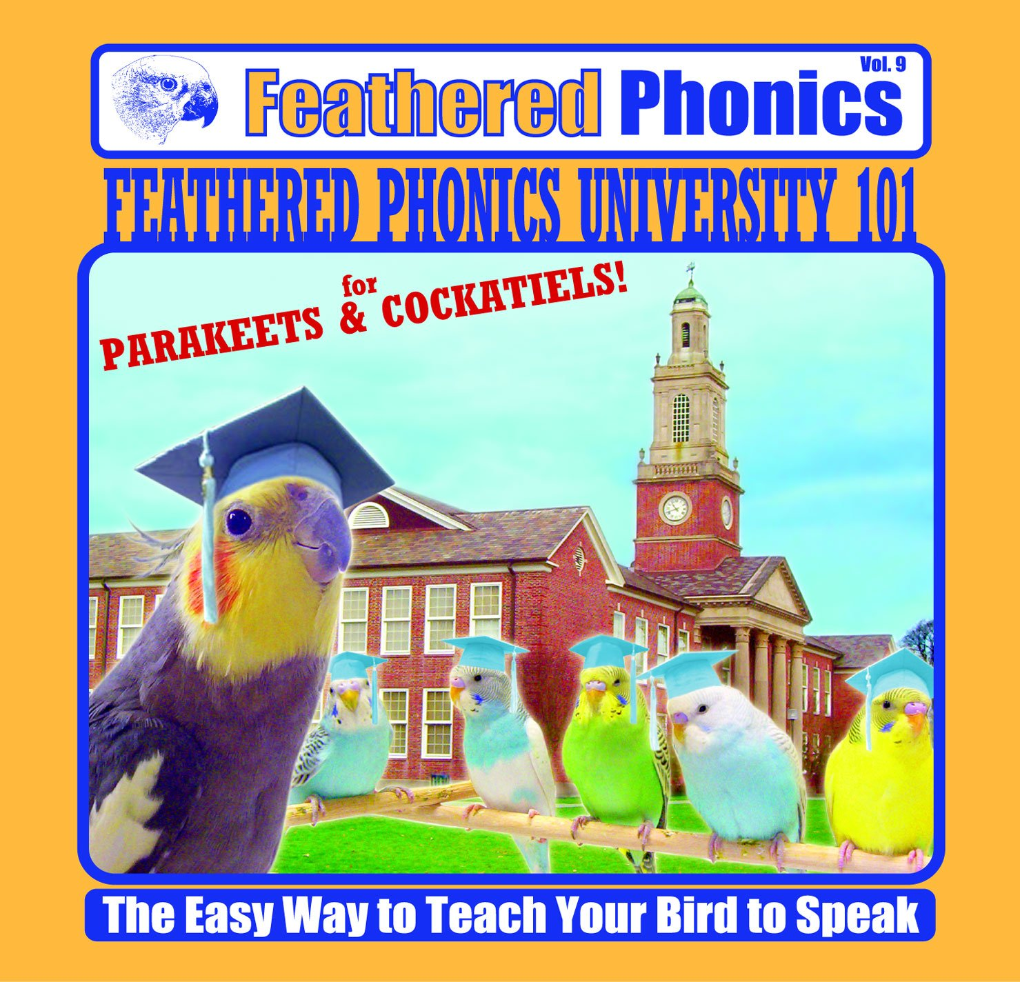 senza esitazione! acquista ora! Feathered Feathered Feathered Phonics The Easy Way To Teach Your Bird To Speak Volume 9  Feathered Phonics University 101 by Pet Media  memorizzare