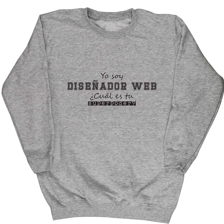 HippoWarehouse Yo Soy Diseñador Web, ¿Cuál es tu Superpoder? jersey sudadera suéter derportiva unisex niños niñas: Amazon.es: Ropa y accesorios