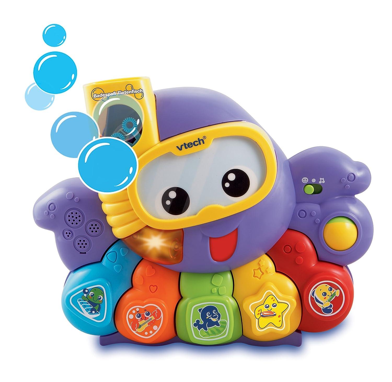 VTech Baby 80-113504 - Badespaß Tintenfisch Bade- und Wasserspielzeug